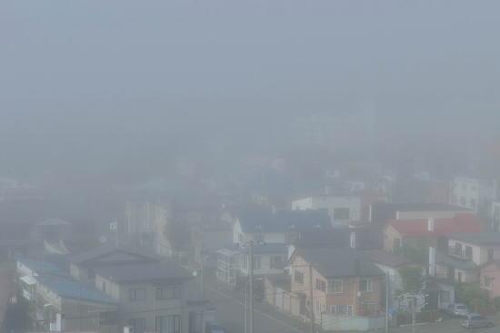 霧の浦見の町