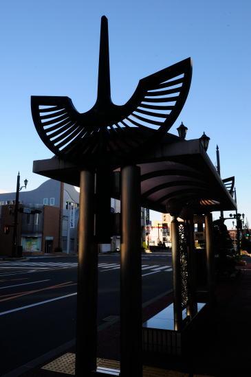 北陸銀行バス停