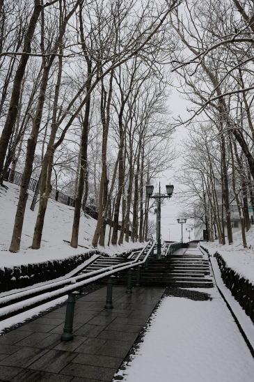 雪の出世坂