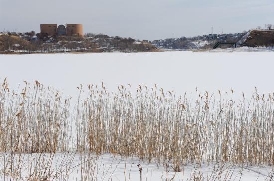 白き春採湖