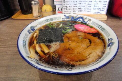 夏堀 醤油ラーメン