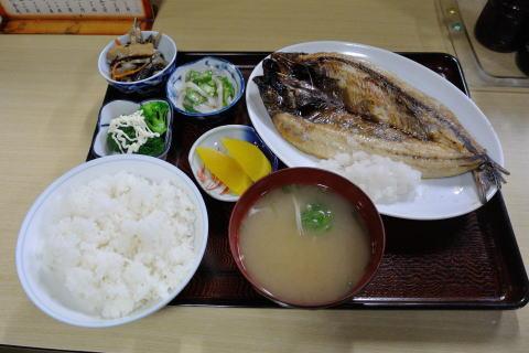 焼き魚定食(にしん)
