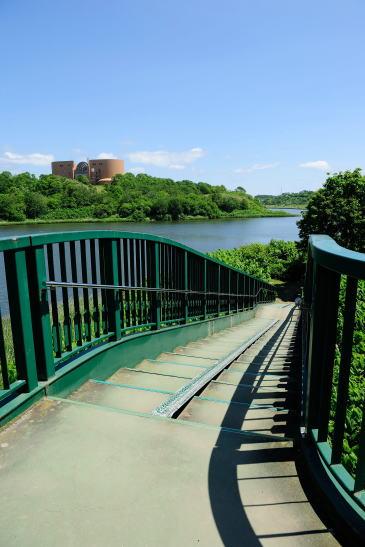 春採湖ひぶな橋