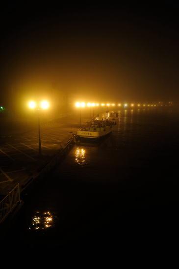 久寿里橋から眺める釧路川