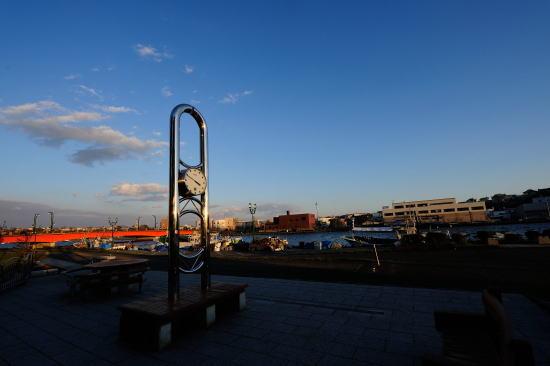 釧路川リバーサイド 中央広場