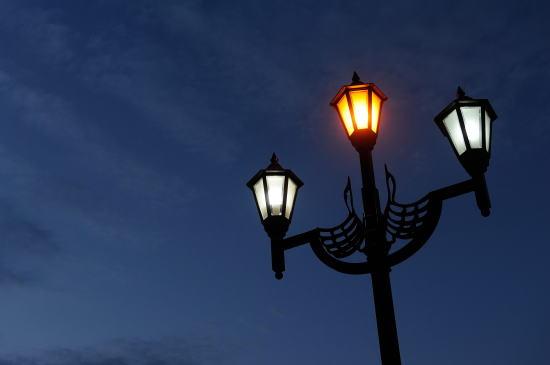 北大通の街灯