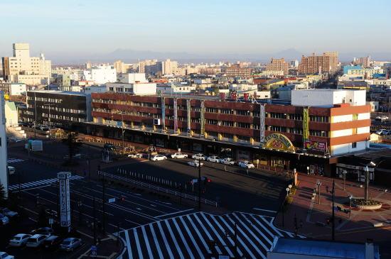 JR釧路駅俯瞰