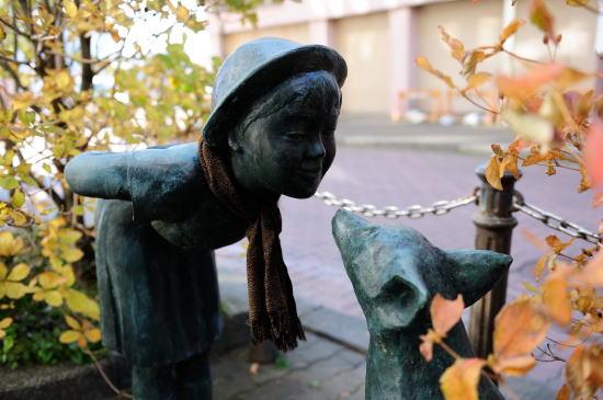 「少女とキタキツネ(1992年12月)」
