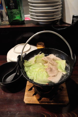 ニンニク鍋