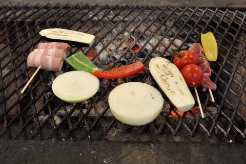 野菜、ベーコン巻き