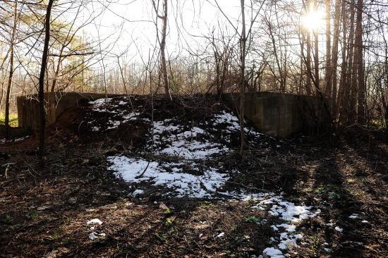帯広の掩体壕