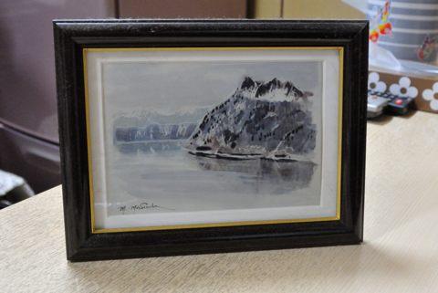 画家 増田誠さんの描いた摩周湖