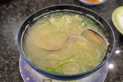 あさり味噌汁