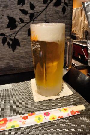 生ビール(クリアアサヒ)