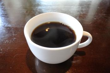 ランチのコーヒー
