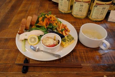 ランチ(お野菜プレート) スープ付き