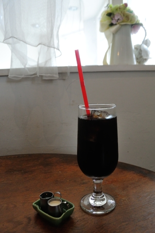 ランチについてくるドリンク(アイスコーヒー)