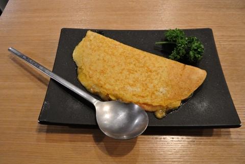 明太チーズオムレツ(ハーフ)