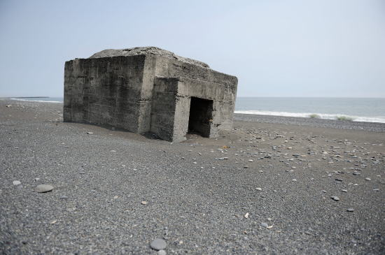 小紋別海岸のトーチカ