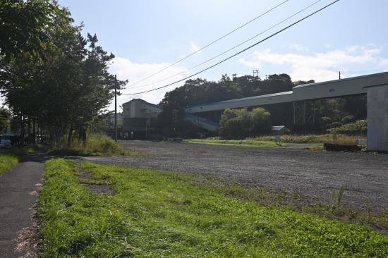 旧春採駅構内の選炭工場