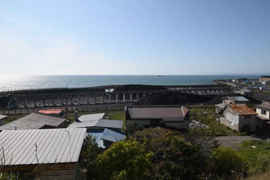 旧知人駅高架桟橋