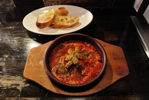 トリッパのトマト煮