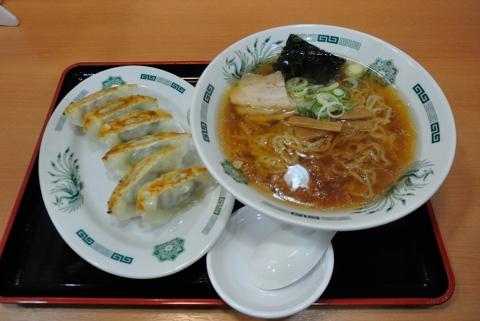 餃子セット(中華そばと餃子)