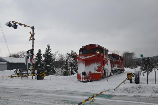 宗谷線ラッセル車