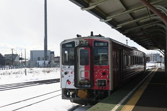 釧路行き 普通列車