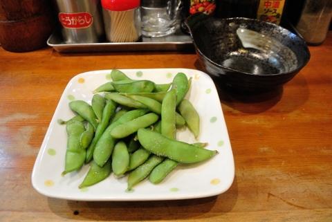 茹で揚げ茶豆
