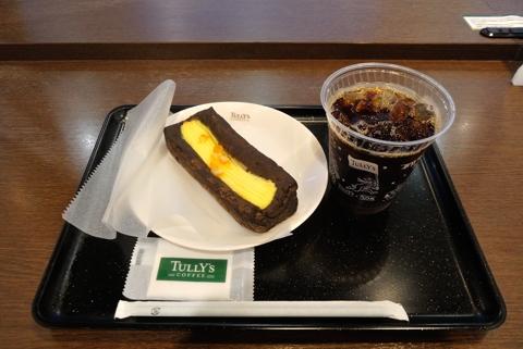 アイスコーヒーTサイズ 、オレンジパッションレアチーズ