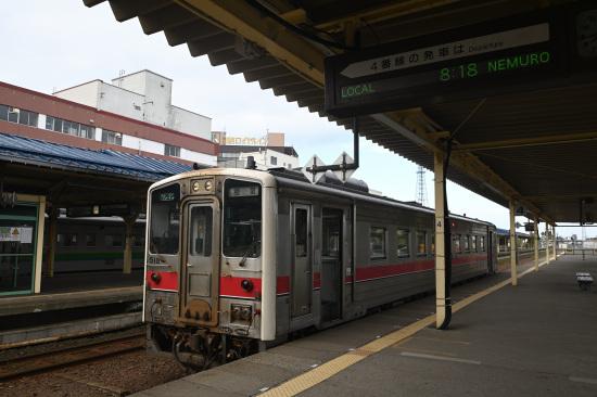 花咲線 根室行普通列車